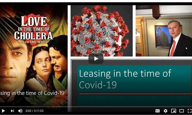 Webinar: Leasing in the time of COVID-19