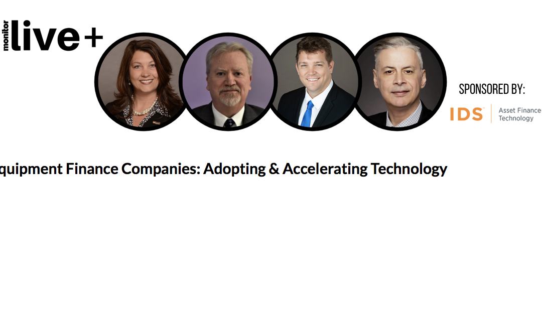 In Monitor Webinar John Hurt Discusses  New Urgency for Adopting and Accelerating Technology